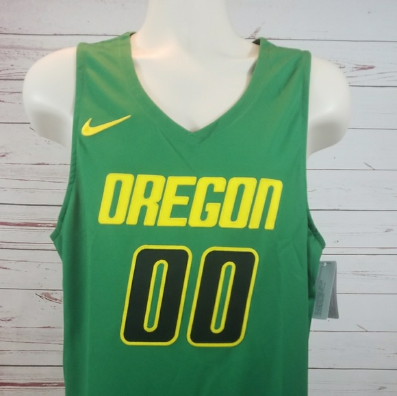 low priced 96c2d d86e6 Oregon Ducks Nike Basketball Jersey Large NWT